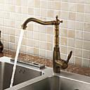 Classic Antique Brass Kitchen Faucet