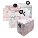 100PCS Bowknot en caja eficaces antibacterianos Pure almohadillas de algodón