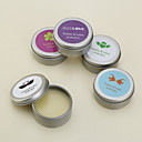 Personalized Lip Balm Tin Favors - Set of 4 (More Designs)
