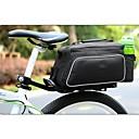ROSWHEEL poliéster y PU Material Textura Series asientos traseros Bolsa de Ciclismo