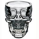 Cráneo del vidrio de tiro