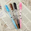 0.7MM gato de la historieta del patrón Automatic Pencil (color al azar)
