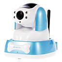 anyvue H.264 720p Monitor sin hilos del bebé con audio bidireccional y visión nocturna, p2p