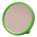 "2.5 ""Mirror Face Red LED Reloj Digital (Green, 2xAAA)"