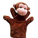 1PCS marionetas de mano del mono de Brown