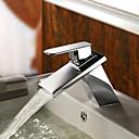 cascada de latón grifo del fregadero cuarto de baño