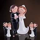 """Estatuilla decorativa """"de la novia y el novio feliz"""" (3 Piezas)"""