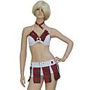 Mujeres Sexy School traje de la muchacha (3 Piezas)