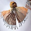 Qing Yu Hot SALR todo-fósforo de los puntos coloridos de la borla doble uso bufanda