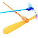 LED vuelo en helicóptero paraguas jet plástico Dragonfly (color al azar)