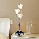 Chic Lámpara de mesa Dormitorio Lámpara moderna de la flor / Contemporáneo