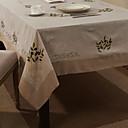 "69 ""X104"" Modern Style Retrò floreale beige Tovaglia"