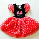 Halloween 3 vestido de burbuja en capas ratón dulce princesa de los niños