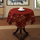 "33 ""X33"" Modern Style Red Floral Tovaglia"