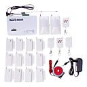 2011 Wireless Home GSM Sistema de Alarma de Seguridad / Alarmas / SMS / llamada / marcación automática h