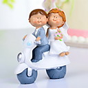 """A Joyful Travel With You"" Wedding Cake Topper"