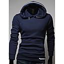 Azul marino Corea Slim Fit sudadera con capucha Casual Fashion REVERIE UOMO Hombres