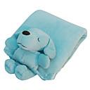 2-en-1 Snuggle manta cubierta de Mat con juguete de felpa de Mascotas Dogs (colores surtidos)