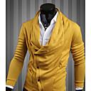 Amarillo 2013 otoño Nueva Corea moda Modelo delgado con capucha Personalidad Fit REVERIE UOMO Hombres