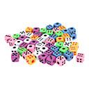 50 piezas de colores de Super Dados Pequeño paquete