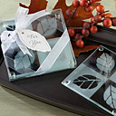 enamorarse hoja set montaña diseño de vidrio esmerilado de 2