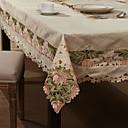 "59 ""X104"" Stile Europeo floreale bianco Tovaglia"