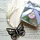 Hollow-out Butterfly Metal Bookmark