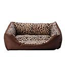 Cozy Warm estampados leopardos Sofá Cama Estilo de Mascotas Perros