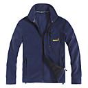 chaqueta de lana de los hombres EAMKEVC libre de estática a prueba de viento anti-fuzz transpirable
