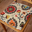Modern Style 100% algodón multicolor Floral Pattern Pad Chair
