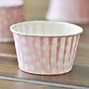 Pink Dot Baking Cups Cupcake Wrappers-Set of 50
