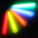 Outdoor Multicolor química 6 pulgadas palillo de la luz del resplandor líquido con gancho para el SOS o del partido (12h-24h, color al azar)