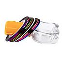 10 Color de la cinta de las rayas Line Nail Art Decoración Pegatina