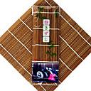 Alta calidad algas Nori para sushi 50pcs/pack bambú del balanceo alfombrillas Nori Herramientas