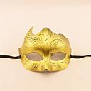 2 colores de la llama hombres de la forma de PVC máscara de Halloween