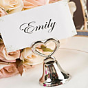 Heart and Bell Placecard Holder