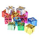 """12-Pack 3 cm 1 """"oro brillante caja de regalo Adornos de Navidad"""