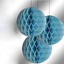 """10 """"bola de la flor de papel de tejido de nido de abeja (más colores)"""
