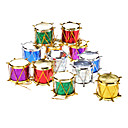 "12-Pack 3 cm 1 ""Sequin Drums Adornos Paquete"