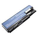 5200mah batería del ordenador portátil del reemplazo para Acer Aspire 5310 5315 5520 5520 5710 5720 5920 T 5920 T 6530 6920 - Negro
