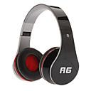A6 Dinámica Stereo Music Cómodo Headphone Negro
