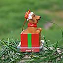 Dachshund lindo decorativo Ornamento del regalo de Navidad para los amantes de mascotas
