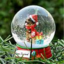 Precioso pastor alemán decorativo Bola de cristal del ornamento regalo de Navidad para los amantes de mascotas