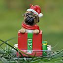 Lindo Sharpie decorativo Ornamento del regalo de Navidad para los amantes de mascotas