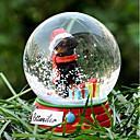 Precioso Rottweiler decorativo Bola de cristal del ornamento regalo de Navidad para los amantes de mascotas