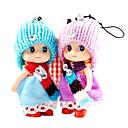 2 en 1 llavero muñeca Ddung o cadena de teléfono (color al azar)