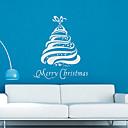 Vacaciones Screamy árbol de navidad pegatinas de pared