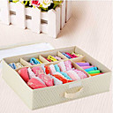 6 Celdas sujetador elegante y calcetines caja de almacenamiento-4 Colores Disponibles