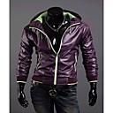 Color Púrpura Contraste chaqueta impermeable con capucha REVERIE UOMO Hombres