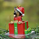 Lindo del pastor alemán ornamento decorativo regalo de Navidad para los amantes de mascotas